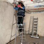 Instalación de escalerillas